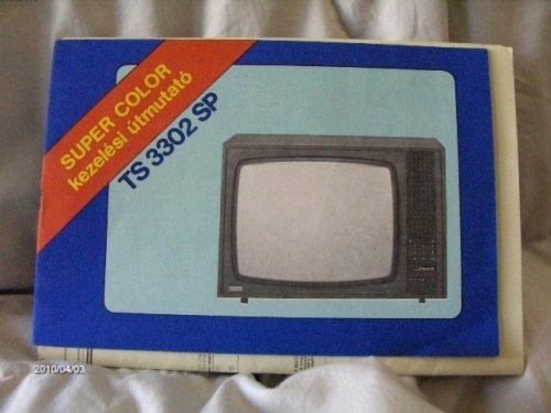 Videoton Super Color televízió kezelési útmutató