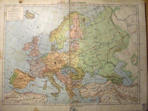 Európa politikai térképe