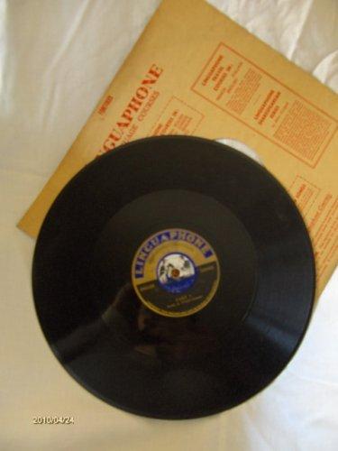 Linguaphone - angol nyelvoktató gramofon lemezek