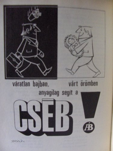 CSÉB reklám