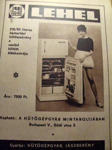 Lehel hűtőszekrény reklám