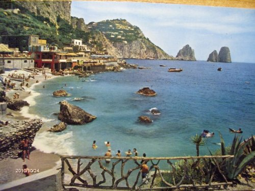 Capri - képeslap