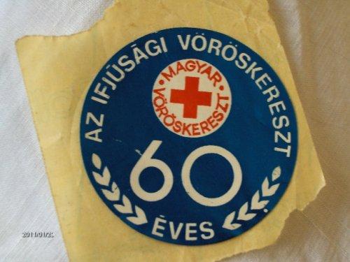 Magyar Ifjúsági Vöröskereszt matrica