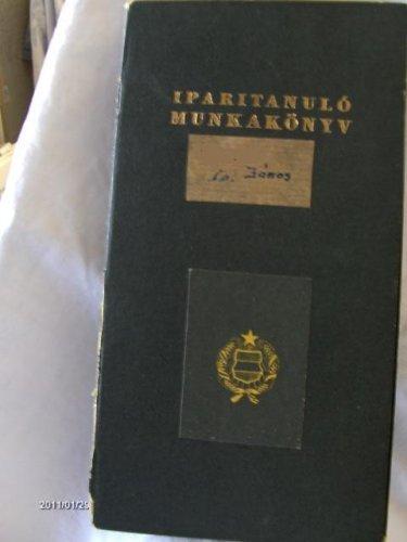 Iparitanuló munkakönyv