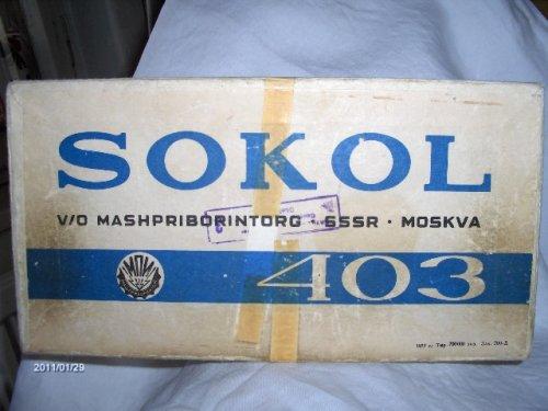 Sokol rádió 403 doboza