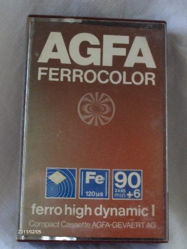 AGFA kazetta Fe 90'