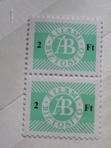 Állami biztosító bélyeg