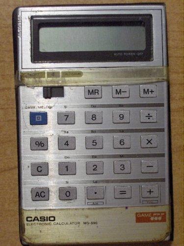 Casio számológép - MG-890