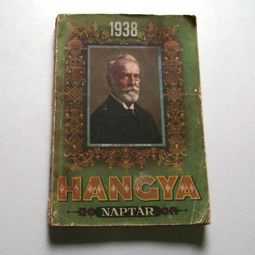 Hangya naptár 1938