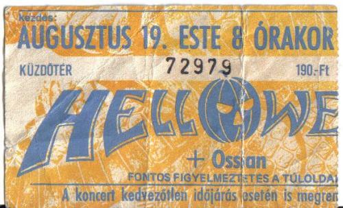 Helloween koncert