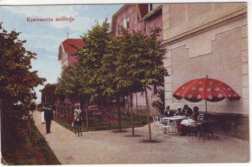 Hévízfürdő képeslap 1916