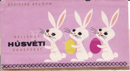 Húsvéti csokipapír