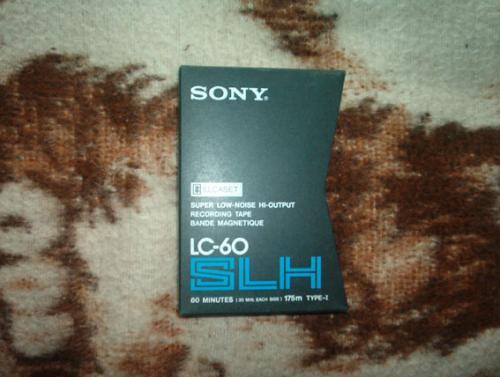 Sony ELCASET kazetta