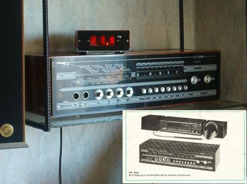 Videoton R5932 rádió