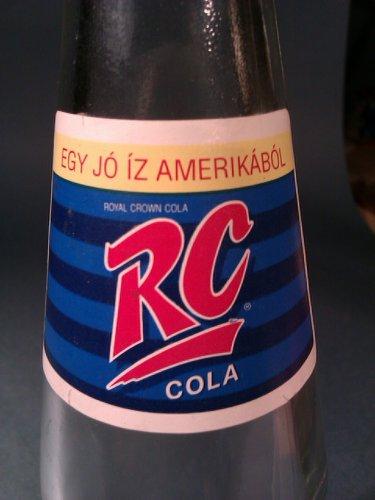Royal Crown Cola 0,5-ös üveg