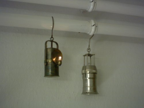 Bányász lámpa.