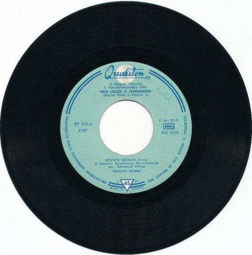 Kovács Kati - Táncdalfesztivál '66 kislemez