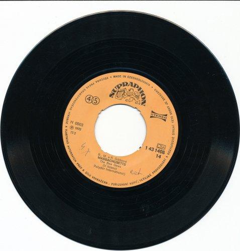 Bee Gees csehszlovák kislemez