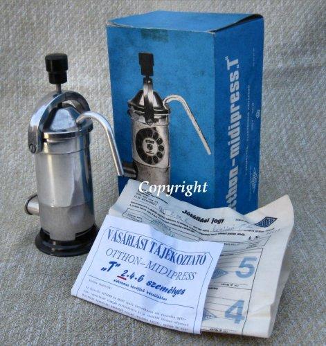 Otthon-midipress kávéfőző