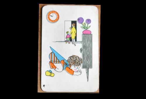 játék kártya, óra tanulásához