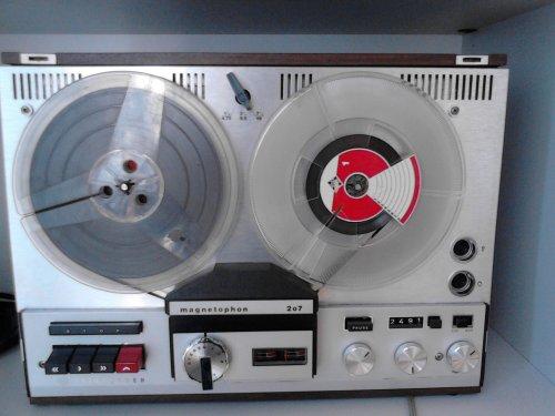 Telefunken magnetophon - 207