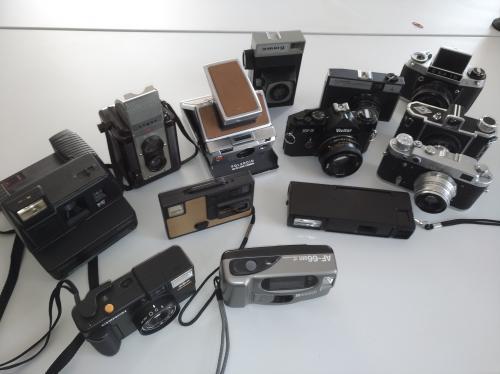 Fényképezőgép gyűjtemény I.