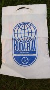 Buda-Flax reklámzacskó