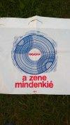 Hungaroton reklámzacskó
