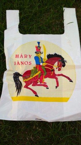 Háry János reklámzacskó