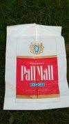 Pall Mall reklámzacskó
