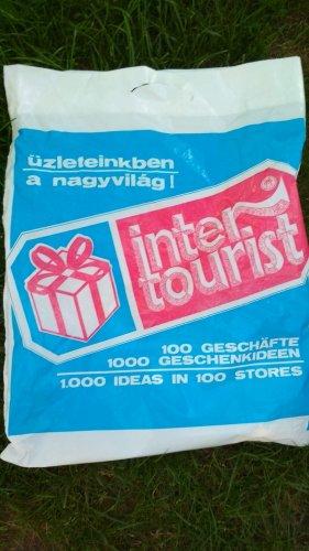 Intertourist reklámzacskó