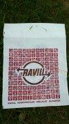 Ravill reklámzacskó
