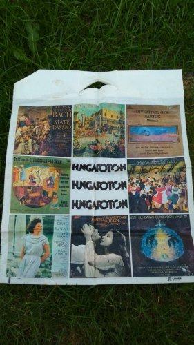 Hungaroton reklámtáska