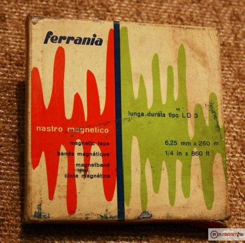 Ferrania magnószalag