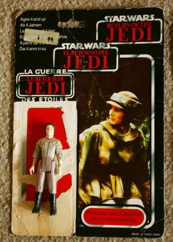 Star Wars Leia bábu