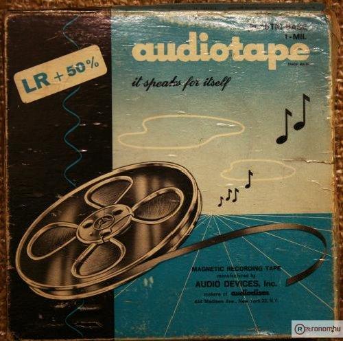 Audiotape magnószalag