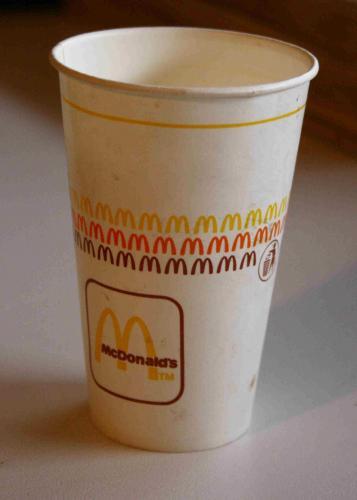 Mc Donald's pohár
