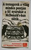 Mc Donald's reklám
