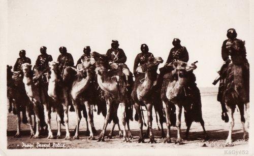 Iraki sivatagi rendőrség