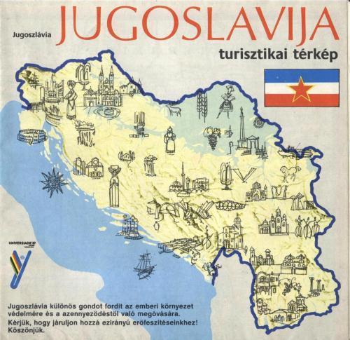Jugoszláv térkép