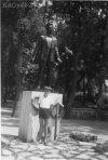 József Attila szobra Balatonszárszón