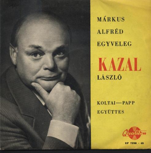 Kazal László énekel.