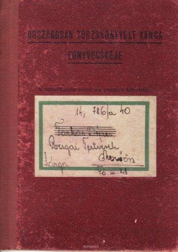 Kanca törzskönyv