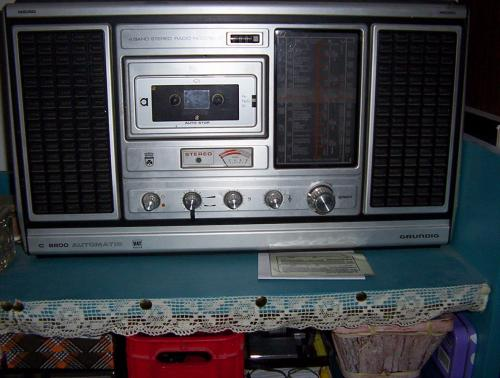 Grundig C8800 rádiós-magnó