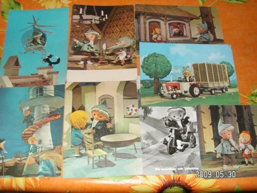 Álom manó képeslapok