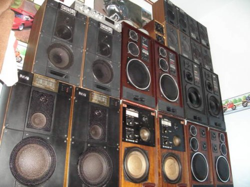 12 pár radiotehnika hangfal