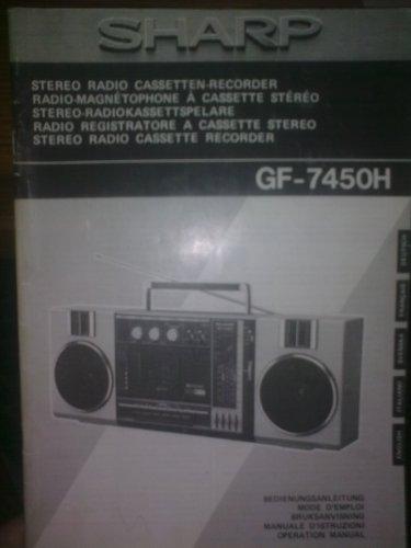 SHARP GF-7450H Hordozhato magno