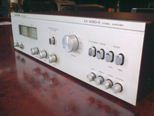 Videoton EA 6380-S típusú erősítő