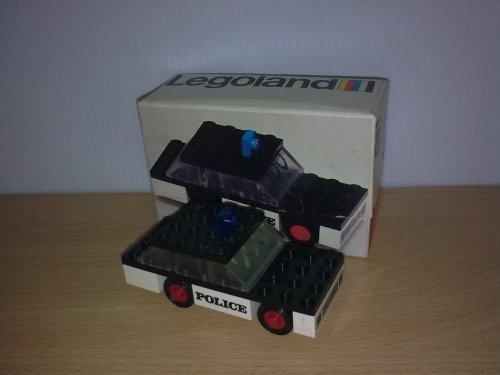 Lego Nr. 611 - Police car - 1973 - dobozában