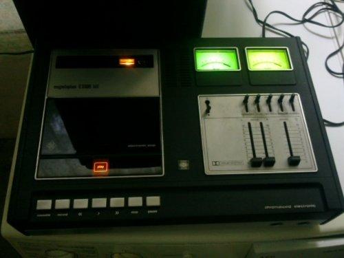 Telefunken C3300 Hifi Magnó Deck Vintage